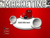 Digital Marketing Word Cloud PowerPoint Template#16