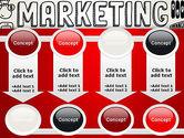 Digital Marketing Word Cloud PowerPoint Template#18
