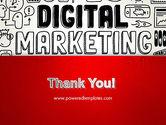 Digital Marketing Word Cloud PowerPoint Template#20