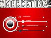 Digital Marketing Word Cloud PowerPoint Template#3