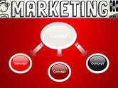 Digital Marketing Word Cloud PowerPoint Template#4