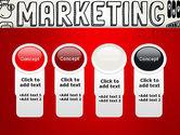 Digital Marketing Word Cloud PowerPoint Template#5