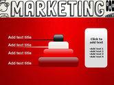 Digital Marketing Word Cloud PowerPoint Template#8