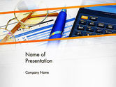 Financial/Accounting: Project Budget PowerPoint Template #13084