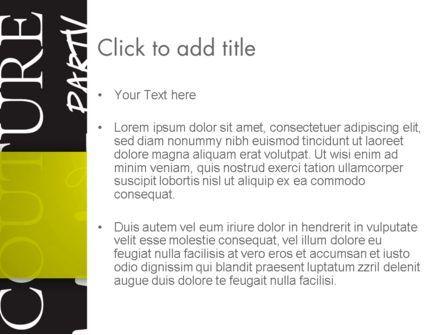 Idea Paint on Chalkboard PowerPoint Template, Slide 3, 13085, Business Concepts — PoweredTemplate.com