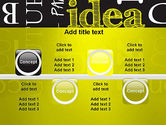 Idea Paint on Chalkboard PowerPoint Template#18