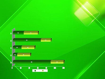 Green Rhombus PowerPoint Template Slide 11
