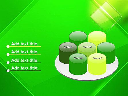 Green Rhombus PowerPoint Template Slide 12