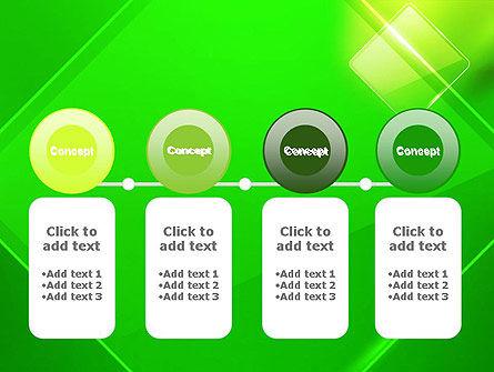 Green Rhombus PowerPoint Template Slide 5