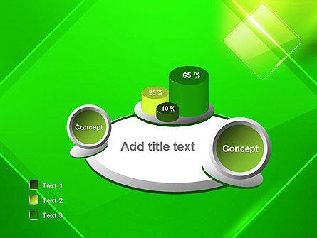 Green Rhombus PowerPoint Template Slide 6