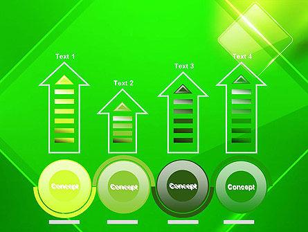 Green Rhombus PowerPoint Template Slide 7
