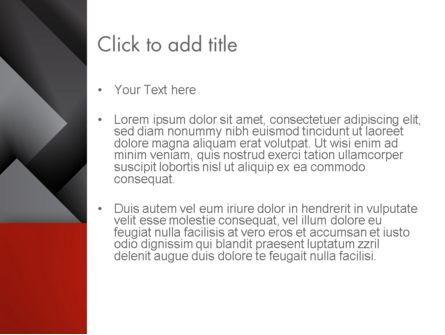 Gray Metal Blocs PowerPoint Template, Slide 3, 13087, Business — PoweredTemplate.com