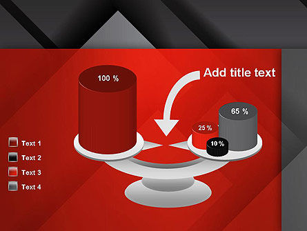Gray Metal Blocs PowerPoint Template Slide 10