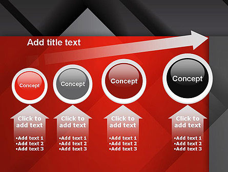 Gray Metal Blocs PowerPoint Template Slide 13