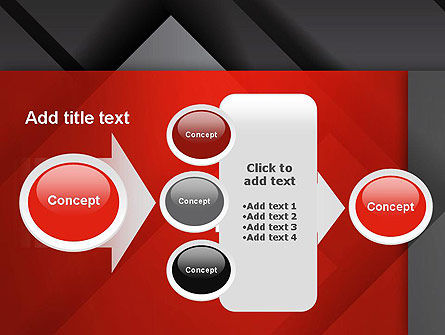 Gray Metal Blocs PowerPoint Template Slide 17
