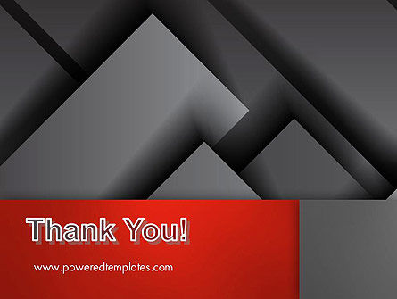 Gray Metal Blocs PowerPoint Template Slide 20