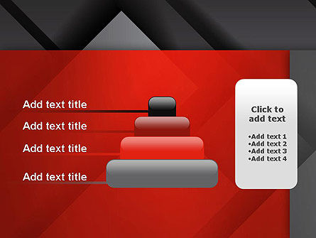 Gray Metal Blocs PowerPoint Template Slide 8
