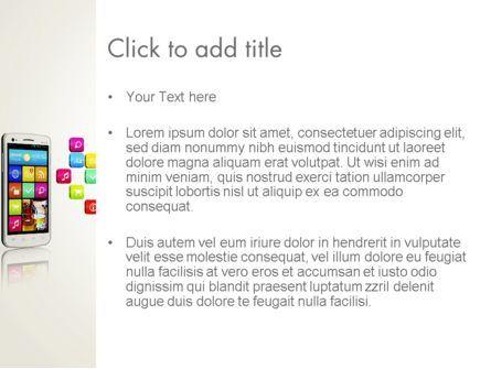 Mobile Application Development PowerPoint Template, Slide 3, 13088, Technology and Science — PoweredTemplate.com