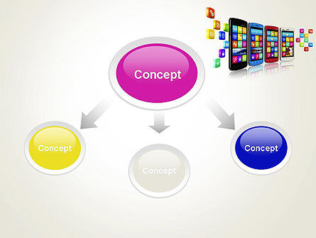 Mobile Application Development PowerPoint Template, Slide 4, 13088, Technology and Science — PoweredTemplate.com