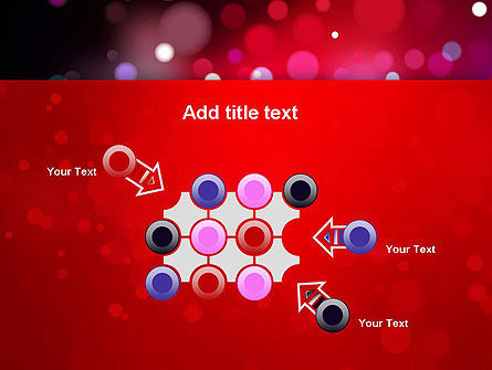 Festive Lights PowerPoint Template Slide 10