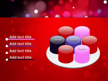 Festive Lights PowerPoint Template Slide 12