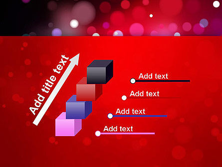 Festive Lights PowerPoint Template Slide 14