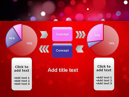 Festive Lights PowerPoint Template Slide 16
