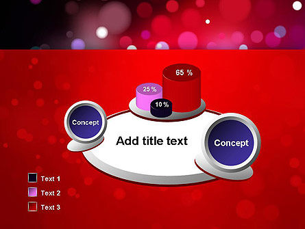 Festive Lights PowerPoint Template Slide 6