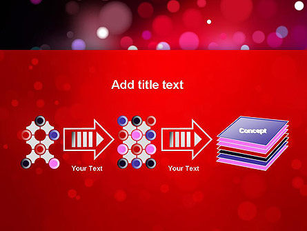 Festive Lights PowerPoint Template Slide 9