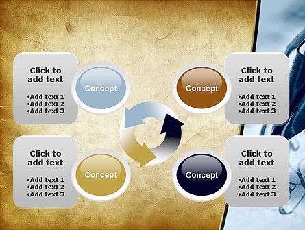 Ancient Letter and Ink Pen PowerPoint Template Slide 9
