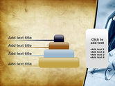 Ancient Letter and Ink Pen PowerPoint Template#8