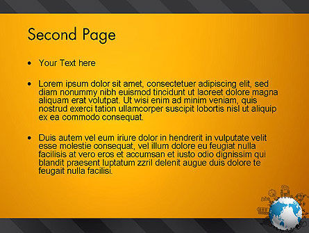 Global Ecology PowerPoint Template, Slide 2, 13092, Global — PoweredTemplate.com