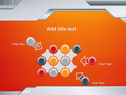Polished Metal Surface PowerPoint Template Slide 10