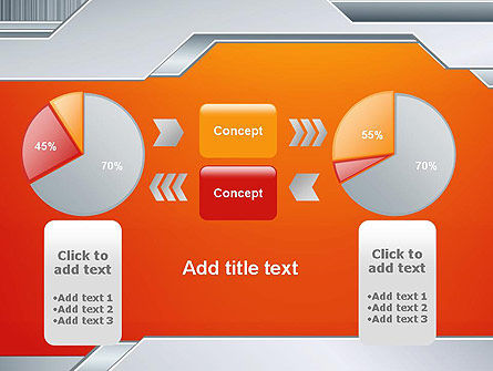 Polished Metal Surface PowerPoint Template Slide 16