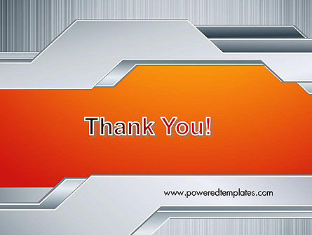Polished Metal Surface PowerPoint Template Slide 20