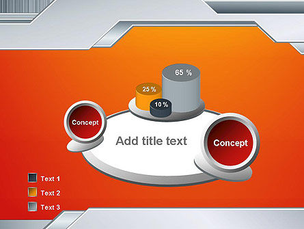 Polished Metal Surface PowerPoint Template Slide 6