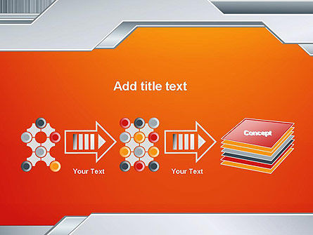 Polished Metal Surface PowerPoint Template Slide 9