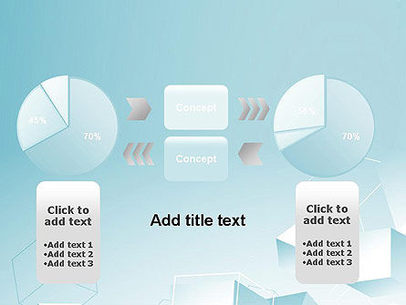 Blue Cubes PowerPoint Template Slide 16
