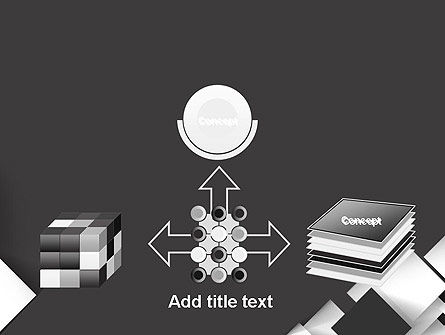 Abstract Overlapping Squares PowerPoint Template Slide 19