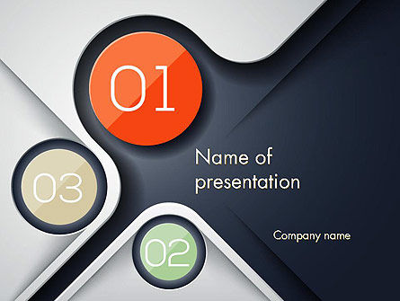 Business: Futuristic PowerPoint Template #13100