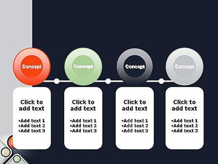 Futuristic PowerPoint Template Slide 5