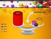 Shiny Colorful Balls PowerPoint Template#10