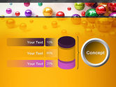 Shiny Colorful Balls PowerPoint Template#11