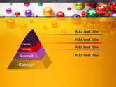 Shiny Colorful Balls PowerPoint Template#12