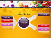 Shiny Colorful Balls PowerPoint Template#14