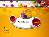 Shiny Colorful Balls PowerPoint Template#16
