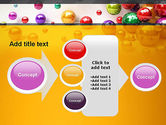 Shiny Colorful Balls PowerPoint Template#17