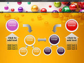 Shiny Colorful Balls PowerPoint Template#19