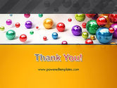Shiny Colorful Balls PowerPoint Template#20