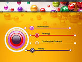Shiny Colorful Balls PowerPoint Template#3
